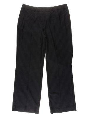 Штани чорні в смужку | 3086573