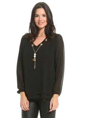 Блуза чорна | 3181731