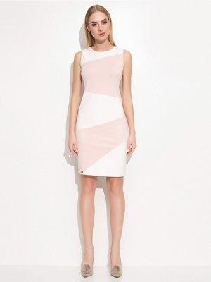 Сукня біло-рожева | 3185836