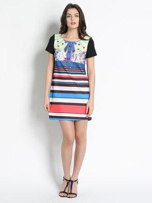 Платье синее в полоску | 3186068
