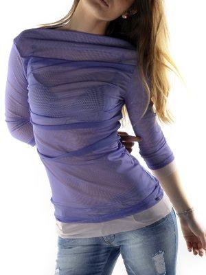 Блуза фиолетовая | 3185339