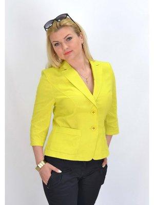 Жакет желтый | 2574453
