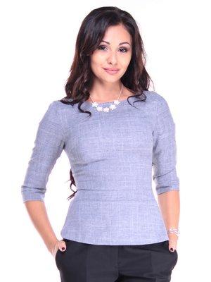 Блуза кольору фіолетового серпанку   3191234