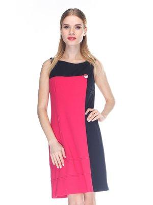 Платье розово-черное | 3138237