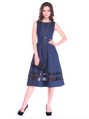 Сукня темно-синя | 3184403