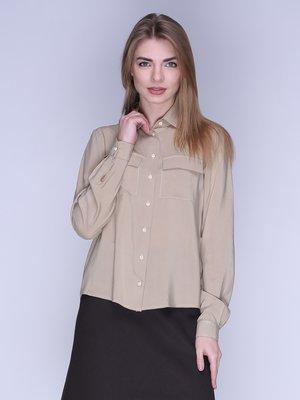 Рубашка оливкового цвета | 2988726