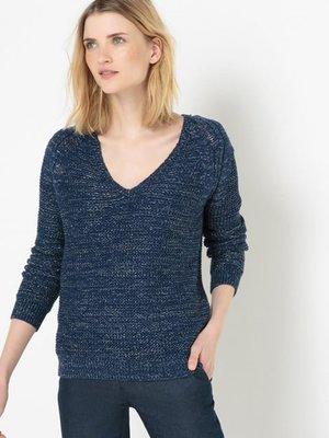 Пуловер темно-синий | 3206109
