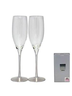 Набор бокалов для шампанского «Сердце» | 3204696