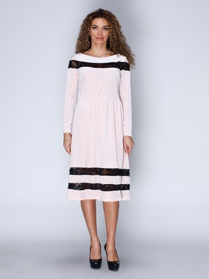 Платье бархатное розовое | 3202218