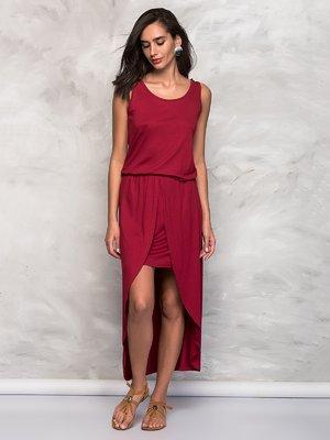Сукня бордова | 3190589