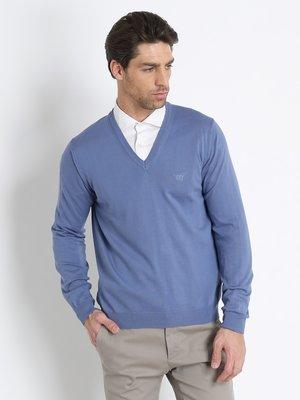 Пуловер блакитний | 3215780