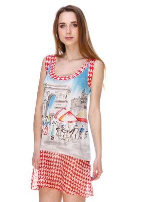 Сукня в принт | 2434136