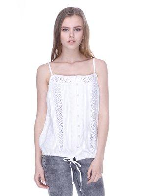 Блуза молочного кольору | 3186793