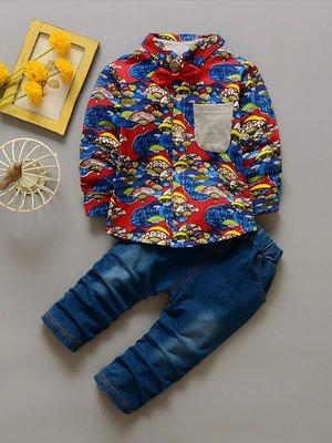 Комплект: рубашка и джинсы   3221385