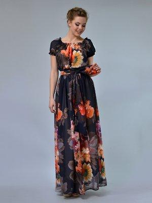 Платье в цветочный принт | 3221832
