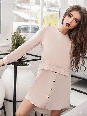 Платье бежевое - B&H - 3222850