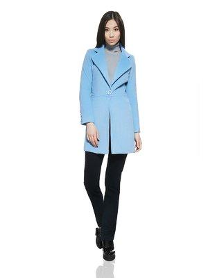 Пальто світло-блакитне | 2949548