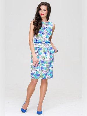 Платье в цветочный принт   3227692