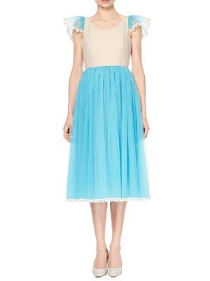 Платье голубое | 3225580