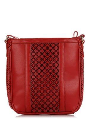 Сумка коричнево-червона | 3188834