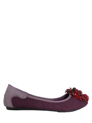 Балетки фіолетові | 3235406