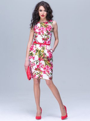 Платье с цветочным принтом | 3238893