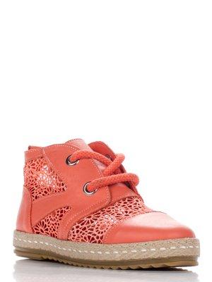 Ботинки коралловые   3230511