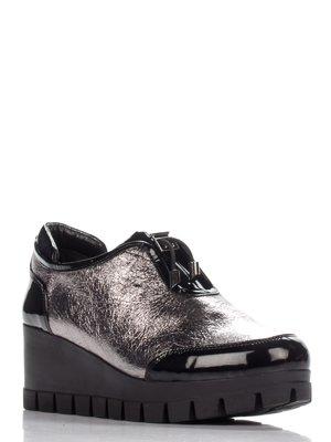 Туфлі кольору нікелю | 3230481