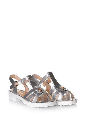 Сандалії сріблясті | 3240193
