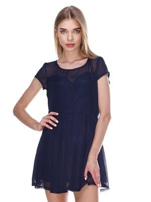 Сукня темно-синя | 3162800