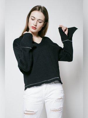 Пуловер черный | 3171419