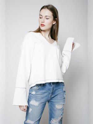 Пуловер белый | 3171420