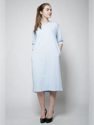 Платье голубое | 3171457