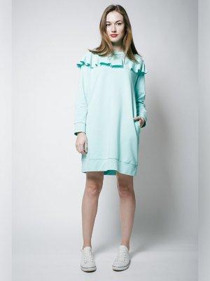 Платье ментолового цвета | 3171460