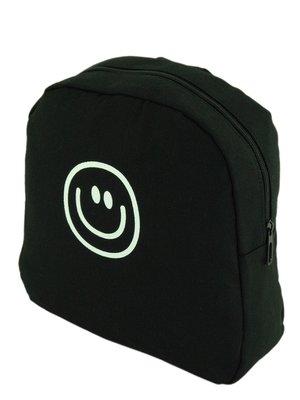 Рюкзак чорний «Смайлик» | 3201843