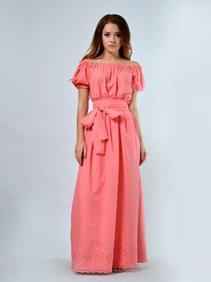 Платье коралловое | 3246675