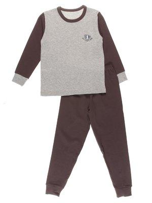 Піжама: лонгслів і штани | 3178627