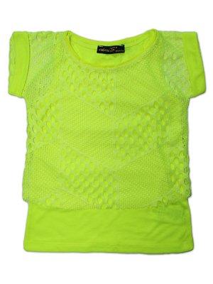 Комплект: футболка в сітку і майка | 3254179