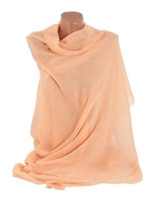 Шаль персикового цвета | 3256468