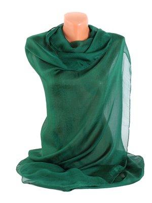 Шаль темно-зелена   3256492