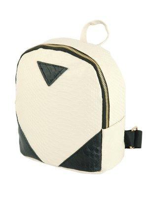 Рюкзак бежево-черный | 3270322