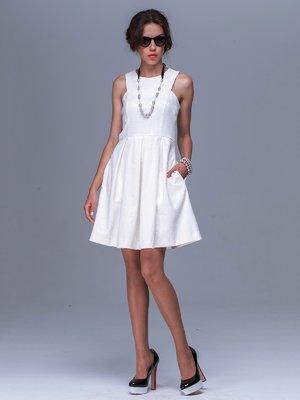 Платье молочного цвета   3189057