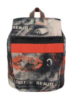 Рюкзак в принт | 3153799