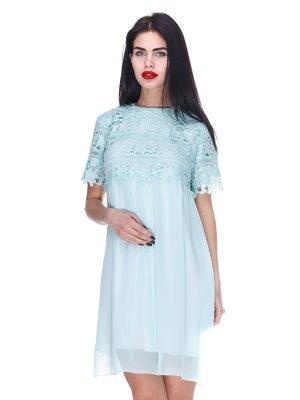 Платье мятного цвета | 3255721