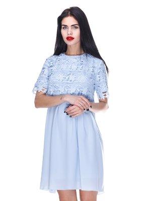 Платье голубое | 3255719