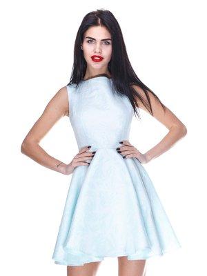 Платье голубое | 3255701
