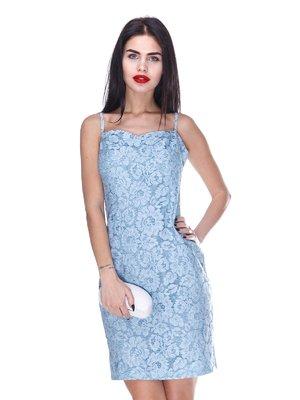 Платье голубое | 3255724