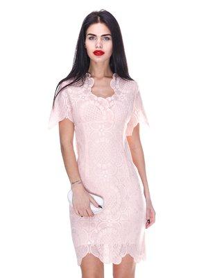 Платье персикового цвета   3255713