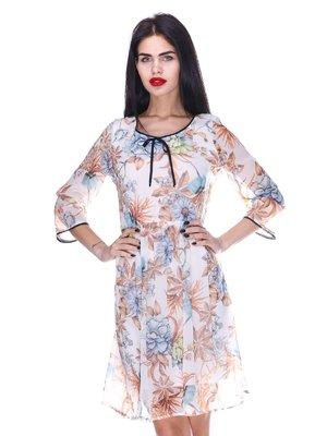 Платье с цветочным принтом | 3255705