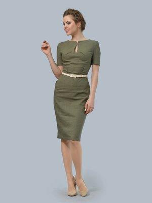 Платье цвета хаки | 3178119